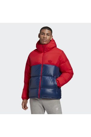 adidas Down Regen Hooded Blocked Puffer Jacket