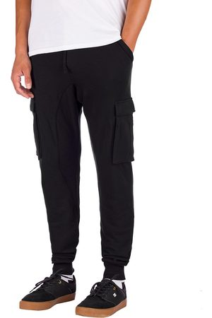Zine Cargo Fleece Jogging Pants black