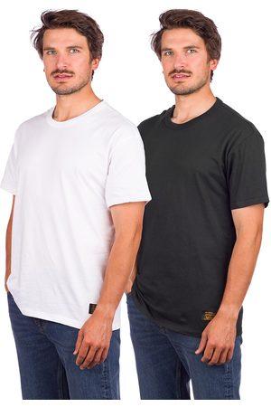 Levi's Levi's Skate 2 Pack T-Shirt jet black/white