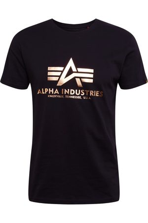 Alpha Industries T-shirt 'Basic T Foil Print