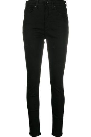 RAG&BONE Jean Smala jeans med hög midja