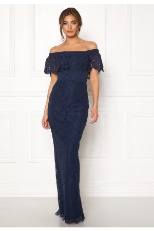 Moments New York Rose Lace Gown Dark blue 42