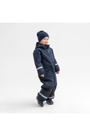 Polarn O. Pyret Barn Bodys - Fodrad skaloverall mörk marinblå