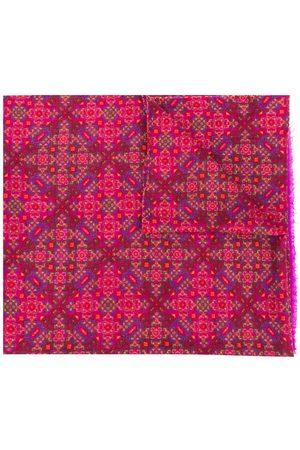 Yves Saint Laurent Halsduk med abstrakt tryck