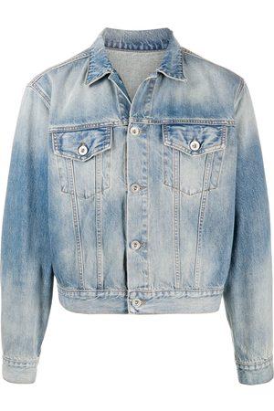 Unravel Project Beskuren jeansjacka