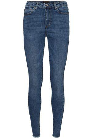 Vero Moda Kvinna High waist - Vmloa Höga Skinny Fit-jeans Kvinna