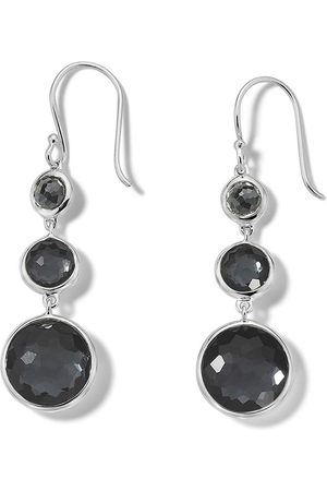 Ippolita 3-stone drop earrings