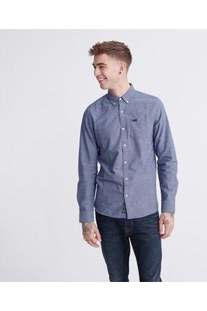 Superdry Man Långärmade - Classic University Oxford långärmad skjorta