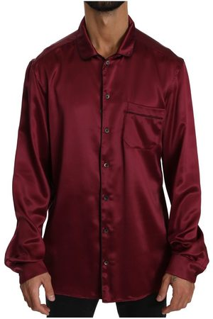 Dolce & Gabbana 100% Silk Top Sleepwear Shirt