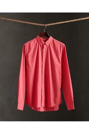 Superdry Man Långärmade - Twill Lite klassisk långärmad skjorta