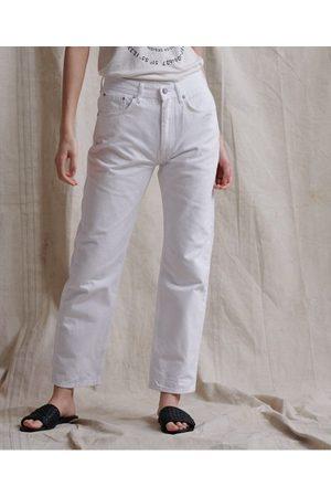 Superdry Raka jeans med hög midja