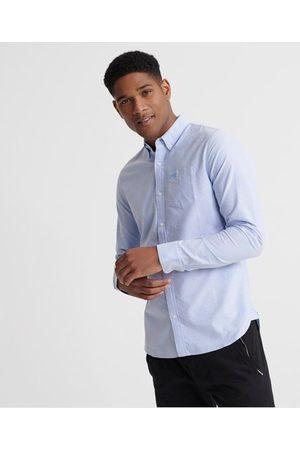 Superdry Classic University Oxford långärmad skjorta