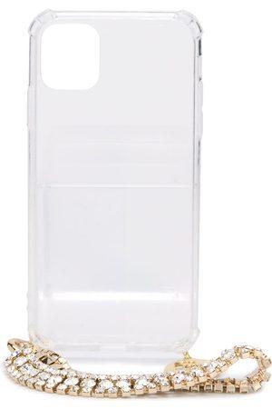 ROSANTICA Kvinna Mobilskal - Crystal chain-embellished iPhone 11 Pro case