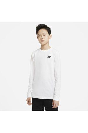Nike Pojke Långärmade - Långärmad t-shirt Sportswear för killar