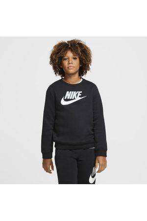 Nike Tröja Sportswear Club Fleece med rundad hals för ungdom (killar)