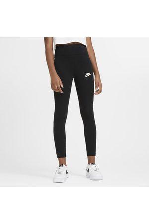 Nike Leggings Sportswear med hög midja för ungdom (tjejer)