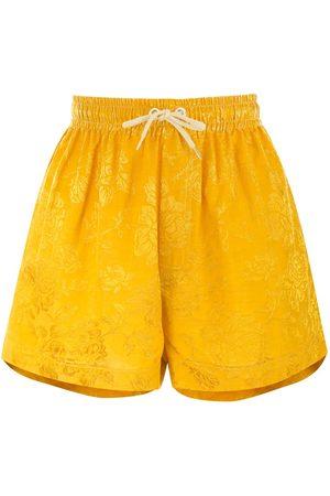 Karen Walker Maple shorts med dragsko i midjan