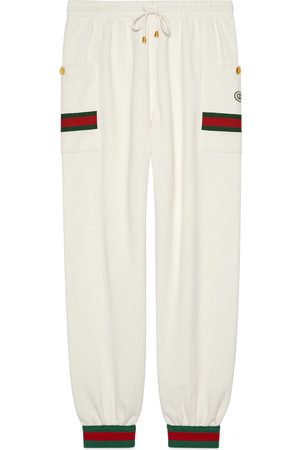 Gucci Jersey jogging bottoms with Web