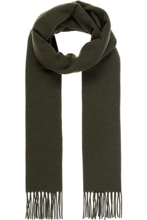 J Lindeberg Man Sjalar - Champ solid wool scarf