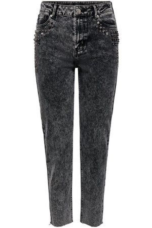 Only Onlwild Emily Hw Acid Ankle Straight Fit Jeans Kvinna