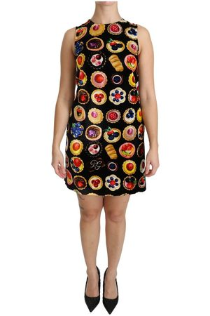 Dolce & Gabbana Desserts Shift Mini Dress