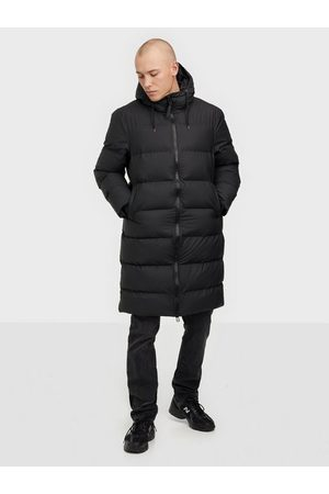 Rains Long Puffer Jacket Jackor Black