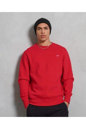 Superdry Man Sweatshirts - Sportstyle rundhalsad sweatshirt