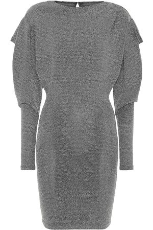 Isabel Marant Waden metallic knit minidress