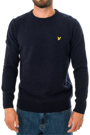 Lyle & Scott Sweater Crewneck Lambswool Blend Jumper Kn921Vf.z56