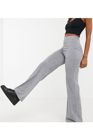 Reclaimed Vintage Inspired relaxed flare in charcoal