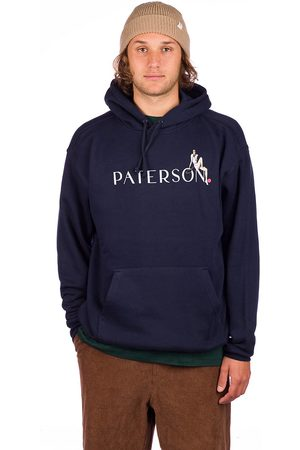 Paterson Pin Up Hoodie navy