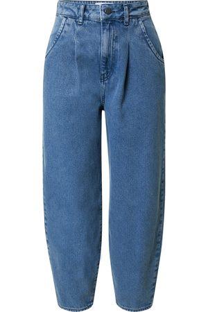 NU-IN Pressveckade jeans