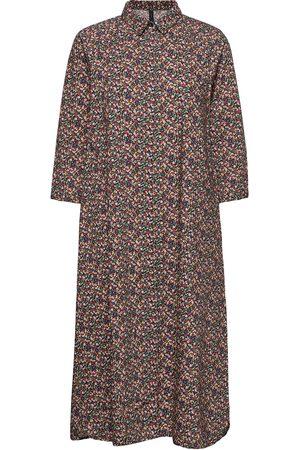 YAS Milana 3/4 Long Dress Ft S. Knälång Klänning