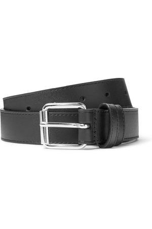 Comme des Garçons Man Bälten - 3cm Leather Belt