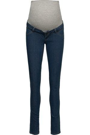 Mama Licious Mljulia Medium Blue Slim Jeans A. Noos Jeans Mom Jeans