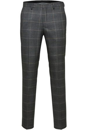 Selected Logan Check Pant