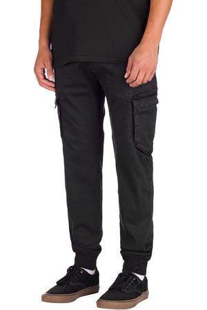 Reell Reflex Rib Cargo Pants black denim