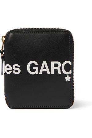 Comme des Garçons Man Plånböcker - Logo-Print Leather Zip-Around Wallet