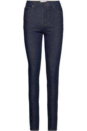 Tomorrow Kvinna Skinny - Bowie Hw Skinny Rinse Slimmade Jeans