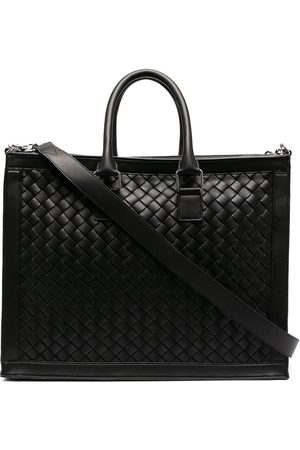 Bottega Veneta Intrecciato weave briefcase bag
