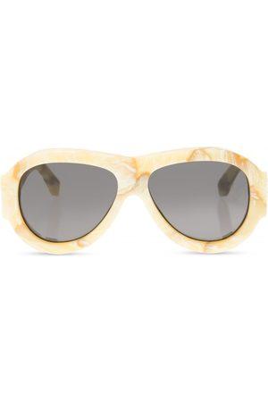 OFF-WHITE Logo sunglasses
