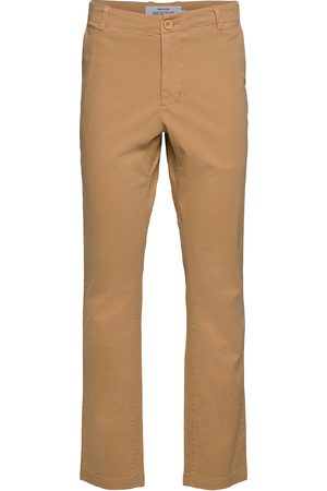 Dedicated Man Chinos - Chino Pants Sundsvall Chinos Byxor Beige