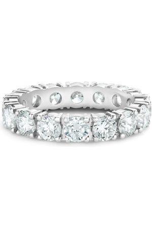 De Beers Platinum diamond Allegria small eternity band ring