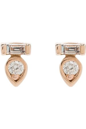 Dana Rebecca Designs 14K rose gold diamond stud earrings