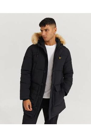 Lyle & Scott Jacka Heavyweight Longline Puffer Jacket