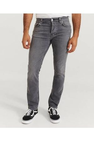 Nudie Jeans Man Slim - Jeans Grim Tim Pale Grey