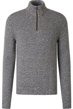 FEDELI Zip Neck Sweater