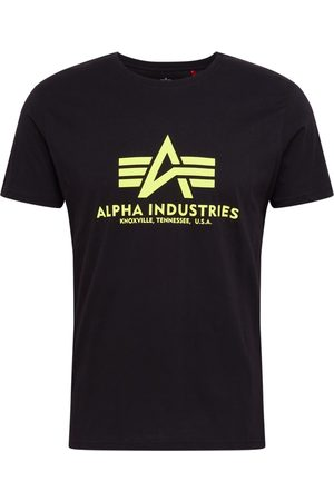 Alpha Industries T-shirt 'Basic T Neon Print