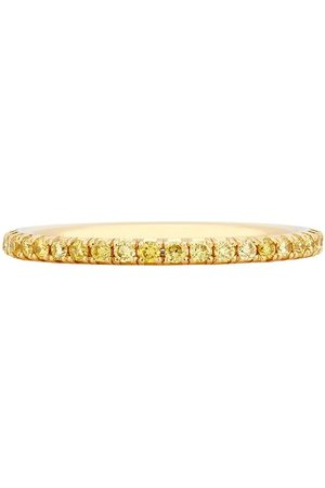 De Beers Diamantring i 18K gult guld
