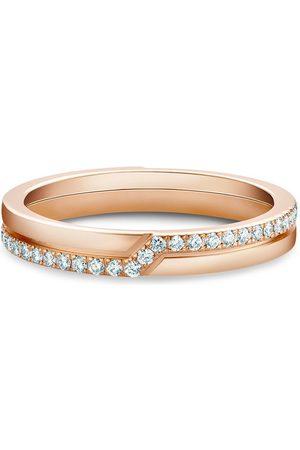 De Beers Diamantring i 18K roséguld